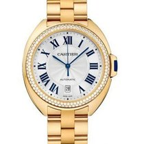 Cartier Cle de Cartier Automatic in Yellow Gold with Diamond...
