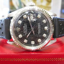Rolex Oyster Perpetual Datejust Steel & Gold Diamond Dial...
