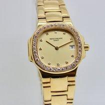 Patek Philippe Nautilus Lady Gold Diamonds ref.4700