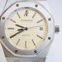 Audemars Piguet 15300 Royal Oak 39mm Steel White Dial Mint IN...
