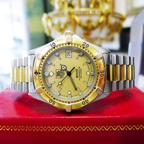 TAG Heuer 2000 Professional 200 Ref: 964.013 Steel Gold...