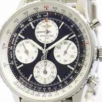 Breitling Polished Breitling Navitimer Twin Sixty Steel...