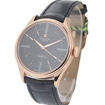 Rolex Unworn 50505 Cellini Time Ref 50505 Everose Gold - on...