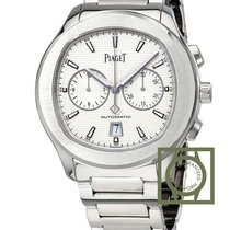 Piaget Polo S Chronograph 42mm silver Dial NEW MODEL