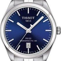 Tissot PR 100 Automatic Blue Dial Mens Watch T101.407.11.041.00