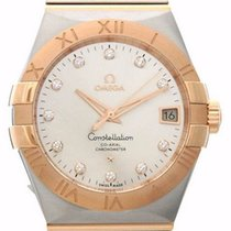 Omega 123.20.38.21.52.001 Constellation Men's Co-Axial...