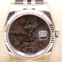 Rolex Datejust, Ref. 116234 - bronze floral Zifferblatt/Jubile...