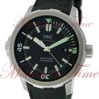 IWC Aquatimer Automatic 42mm, Black Dial - Stainless Steel on...