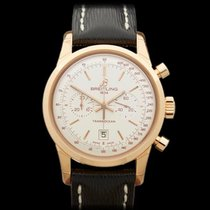 Breitling Transocean Chronograph 18k Rose Gold Gents R4131012