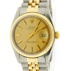Rolex Datejust Two Tone Stainless Steel