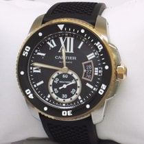 Cartier W7100055 Calibre Diver Rose Gold 42mm