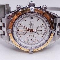 Breitling Chronomat 18k Bezel Stainless Steel Mens Watch D13048
