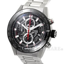 TAG Heuer Carrera Caliber Heuer 01 Chronograph Steel 45MM...