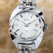 Seiko Lady Matic Automatic Stainless Steel Vintage Japanese...