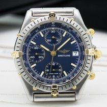 Breitling 81950 Chronomat Blue Dial SS / 18K (24730)