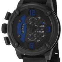 Welder by U-Boat K28 Oversize Chronograph Black Ion-Plated...