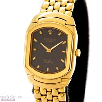 Rolex Cellini Lady Ref-6613 18k Yellow Gold Box Bj-1992