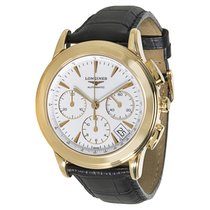 Longines Flagship L4.718.6.22.0 Mens Watch in 18k Gold