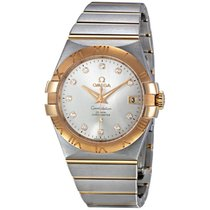 Omega Constellation Chronometer 35 mm Two Tone Watch 123.20.35...