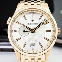 Zenith 18.2130.682/02.M2130 Captain Dual Time 18K Rose Gold /...