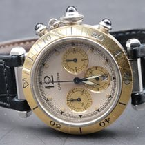 Cartier Pasha CHRONO STEEL AND GOLD 1032