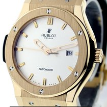 Hublot Big Bang Classic Fusion 18k Rose Gold White Dial Ref....