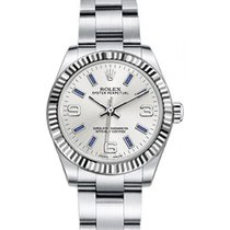Rolex Oyster Perpetual 31 Ladies Midsize 177234-SLVBSO 31mm...