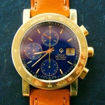 Girard Perregaux GELB GOLD 18K 750 AUTOMATIK HERREN CHRONOGRAP...