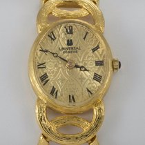 Universal Genève Details about  18k Yellow Gold Universal...