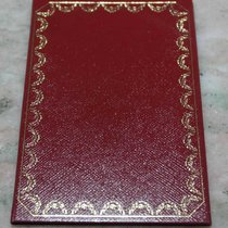 Cartier vintage leather red wallet