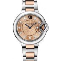 Cartier WE902053 Ballon Bleu 33mm 2-Tone SS/RG - on Bracelet...