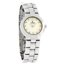 Concord La Scala Diamond Ladies Mop Dial Swiss Quartz Watch...