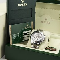 Rolex Daytona White Dial 2009 Box & Papers/Card 116520