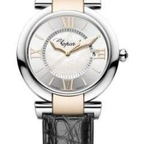 Chopard 388532-6001 Imperiale 36mm 2-Tone - on Black Leather...