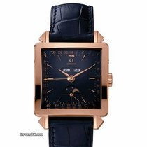Omega Museum Collection Limited Edition Mens Blue Dial Day