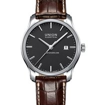 Union Glashütte Herrenuhr Automatik Viro Datum, D001.407.16.05...