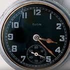 Elgin Model 13 - 16size  - ww11  with black  dial