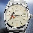 Rolex Precision 6694 Mens Vintage Swiss Made Watch With Mickey...