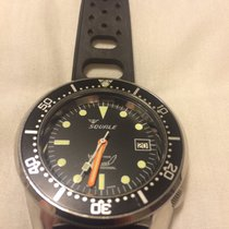 Squale 1521 Black Polished