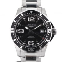 Longines Hydroconquest black 34mm - L3.641.4.56.6