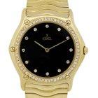 Ebel Classic Wave 18k  Gold Factory Diamond Wristwatch