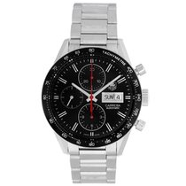 TAG Heuer Carrera Day Date Automatic Chronograph 41mm Mens...