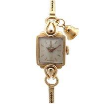 Omega mecanique en or jaune 18k 22 gr femme annee 50 gold watch