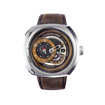 Sevenfriday Men's Q2/01 Q-Series Brwon Automatic Watch