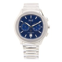 Piaget Polo Stainless Steel Blue Automatic G0A41006