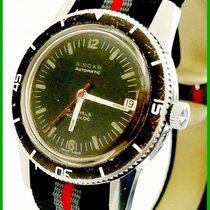 Giroxa Military Diver 20ATM Automatic 25J Date ETA2452 Black...