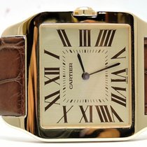 Cartier Santos Dumont 18kt Yellow Gold Men's Watch ...