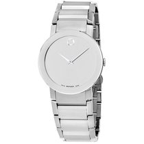 """Movado Men's 606093 """"""""sapphire"""""""" Stainless..."""