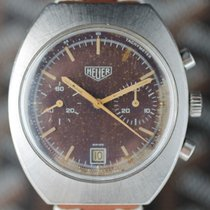 Heuer Rare Chronograph (with tropical Dial)