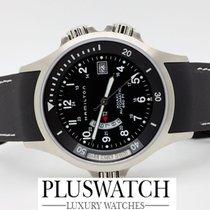 Hamilton Uhr Khaki Navy GMT Nuovo New Black Dial D12/22.5